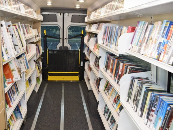 Inside of Bookmobile
